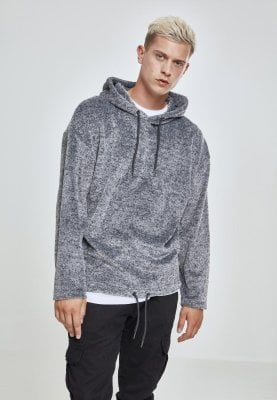 Plush oversize hoodie mens front
