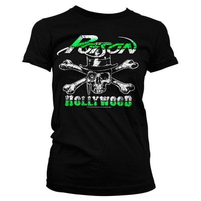 Poison Girl T-shirt - Hollywood Skull