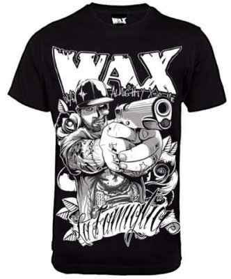 WAX Reloaded svart t-shirt