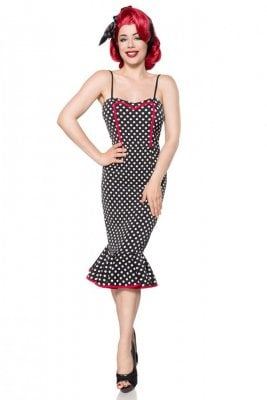 Retro spotted dress
