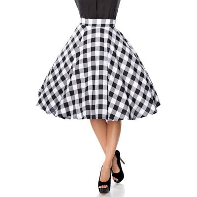 2e67f33d7 Retro checkered skirt - Skirts - Womens - Oddsailor.com