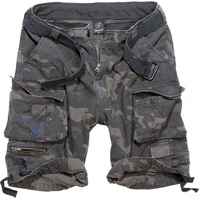 Savage vintage shorts darkcamo front