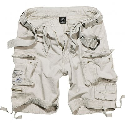 Savage vintage shorts white front