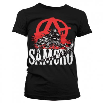 SOA Anarchy Reaper Girl T-shirt