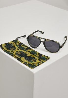 Sunglasses with camouflage bows bag