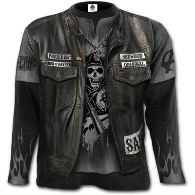 Sons Of Anarchy Jax Wrap longsleeve front