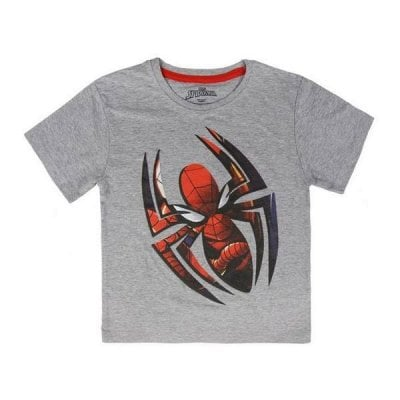 Child's Short Sleeve T-Shirt Spiderman