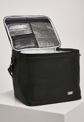 Black cooler bag