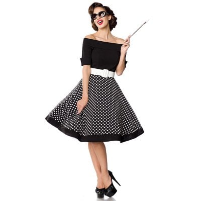 Swing dress without shoulder strap 1
