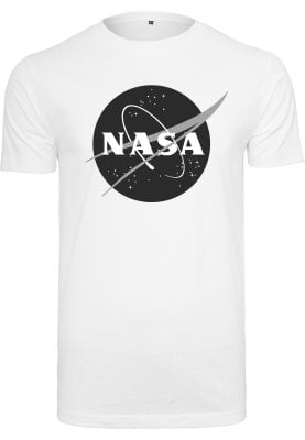 T-shirt with NASA print in black and white