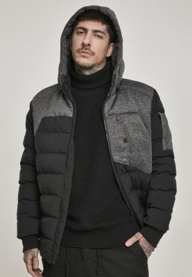 Hooded Tech Bubble Jacket