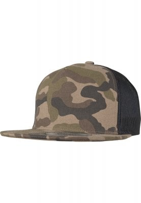 Trucker cap with camo