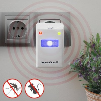 Insect repellent and rodent with LED light 1