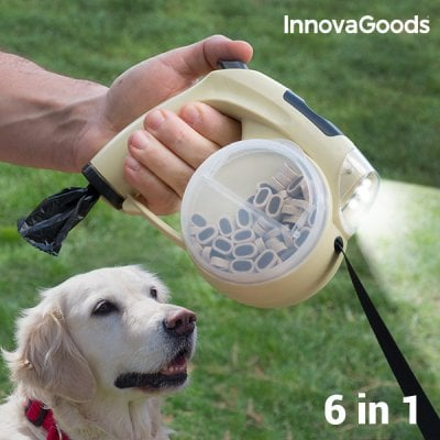 6 in 1 Retractable Pet Leash