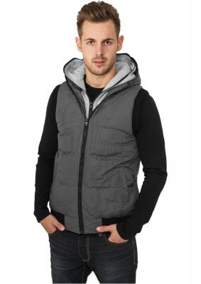 Vest with double hoods