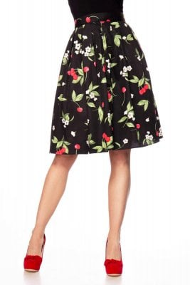 Skirt with cherry