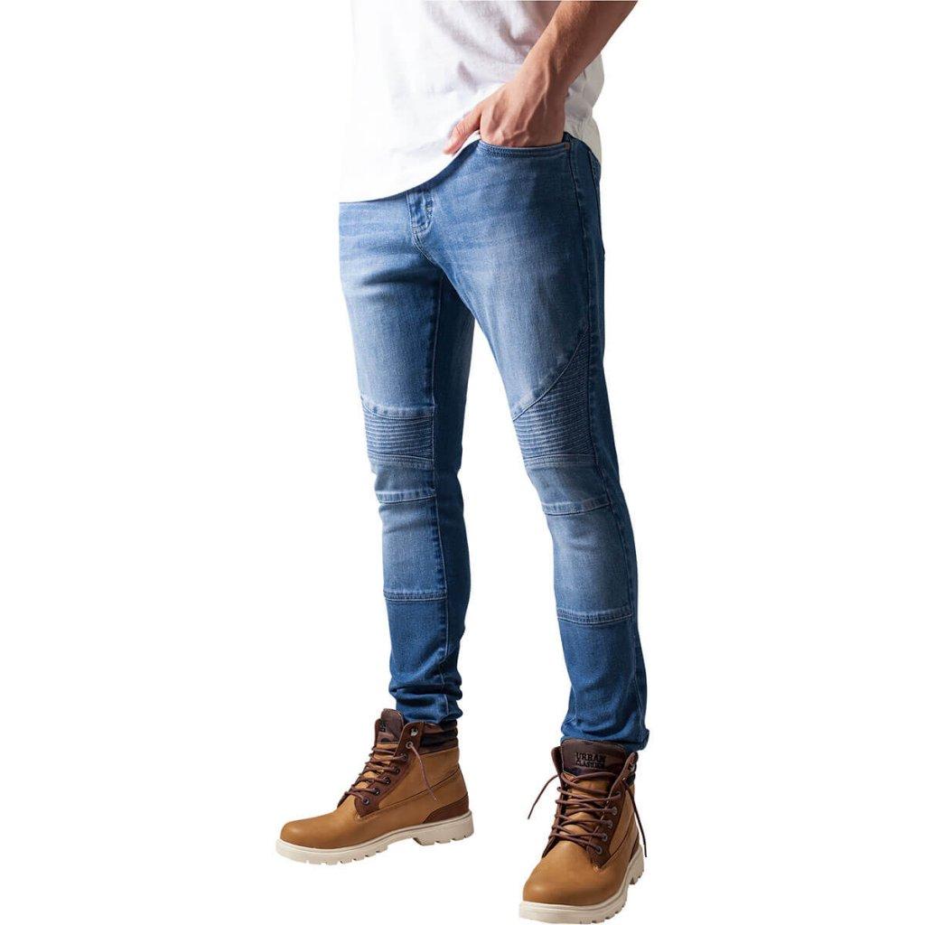 ljusblå jeans herr