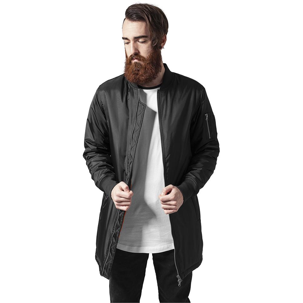 Bomberjacka lång modell herr Jackets Mens