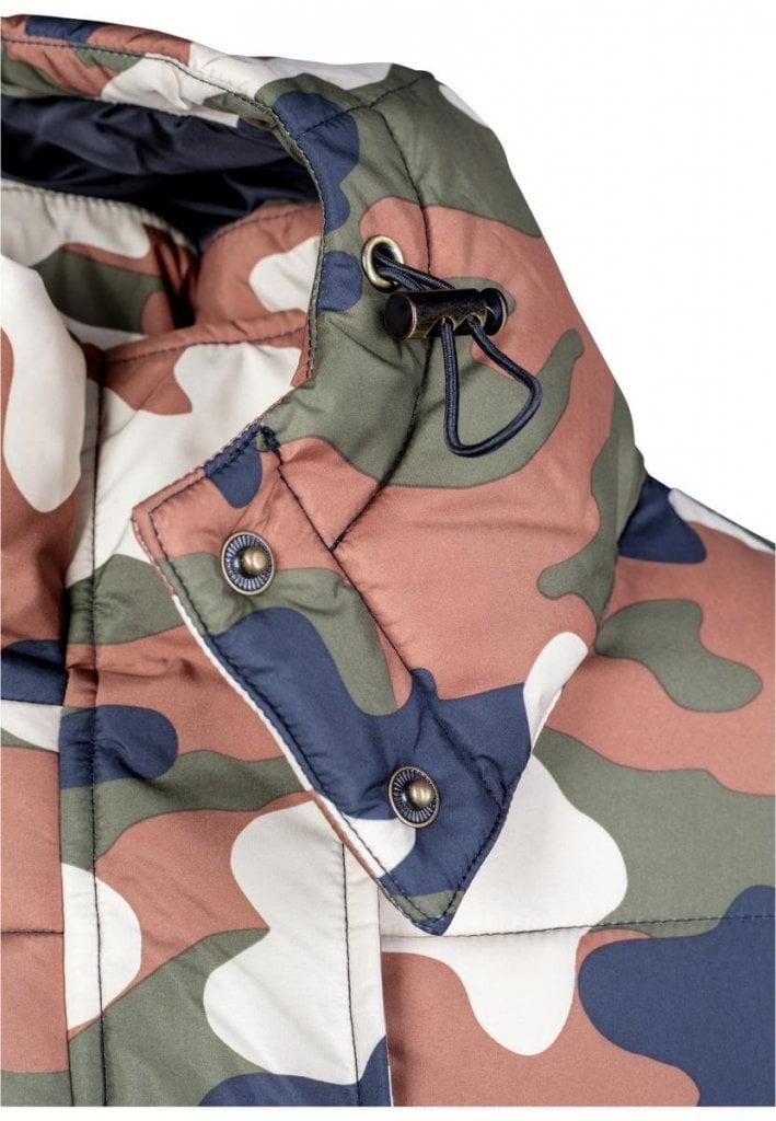 Ladies Boyfriend Camo Puffer Jacket - Jackets - Womens - Oddsailor.com 65d72b1826e