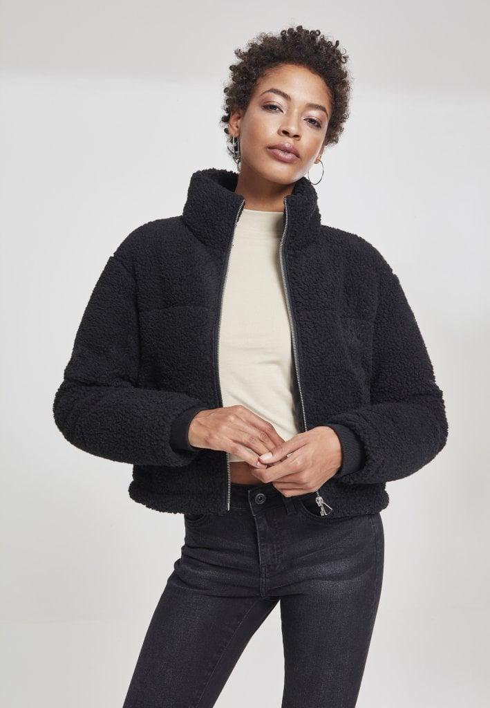 Short teddy jacket lady Jackets Womens