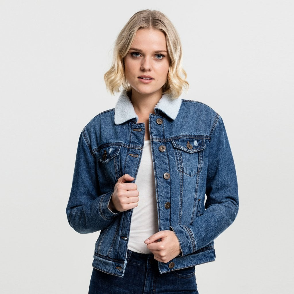 Denim jackets for women uk