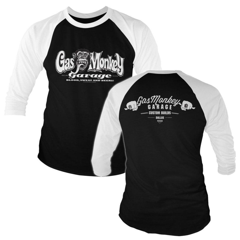 Officially Licensed Badass Gas Monkey Garage T-Shirt T-Shirt S-XXL Sizes