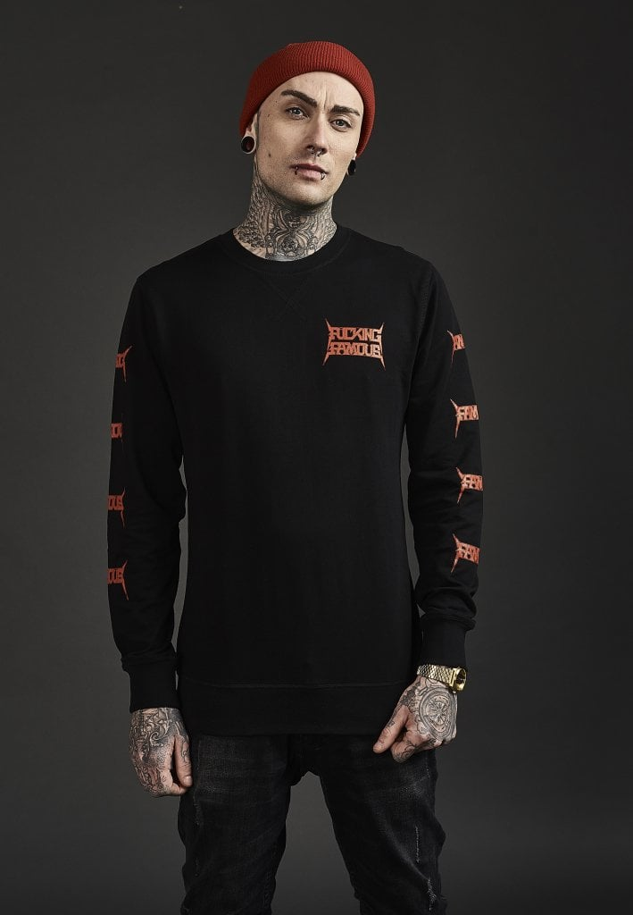 Famous Stars And Straps Herren Pullover Nuclear F*ck Crewneck
