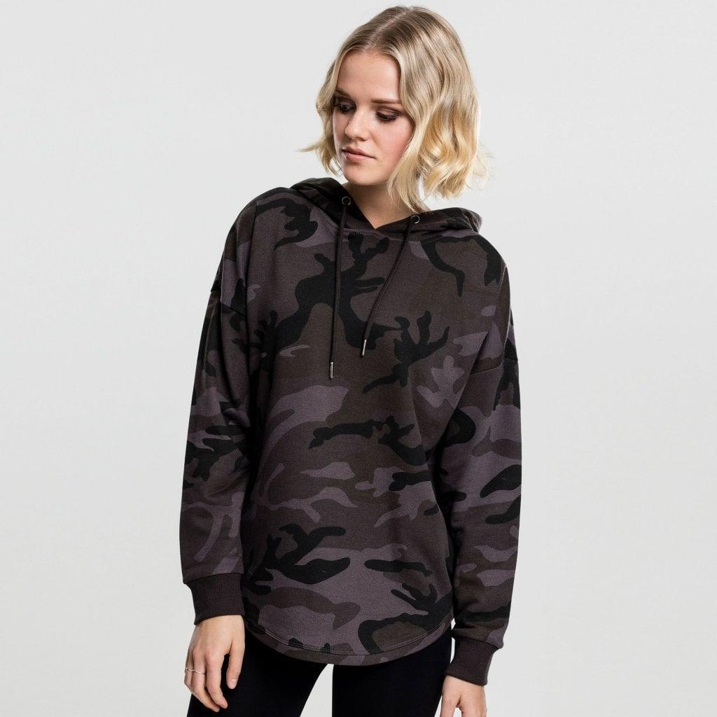 Womens camouflage hoodie