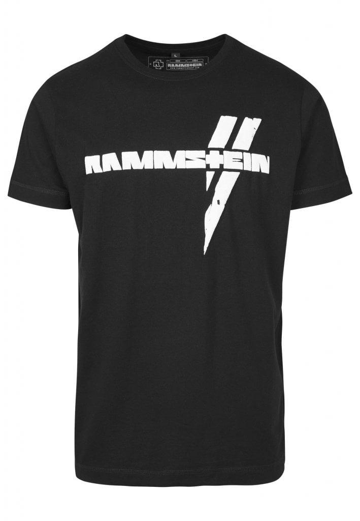 rammstein logo t shirt rammstein band merch. Black Bedroom Furniture Sets. Home Design Ideas