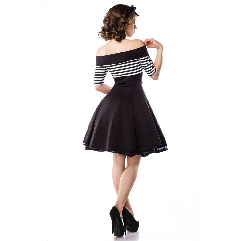 Retro klänning med öppna axlar - Dresses - Womens - Oddsailor.com f25f172c4ebbb