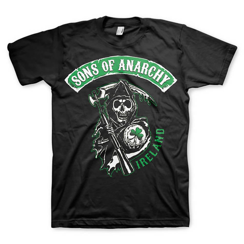 sons of anarchy t shirt ireland t shirts mens. Black Bedroom Furniture Sets. Home Design Ideas