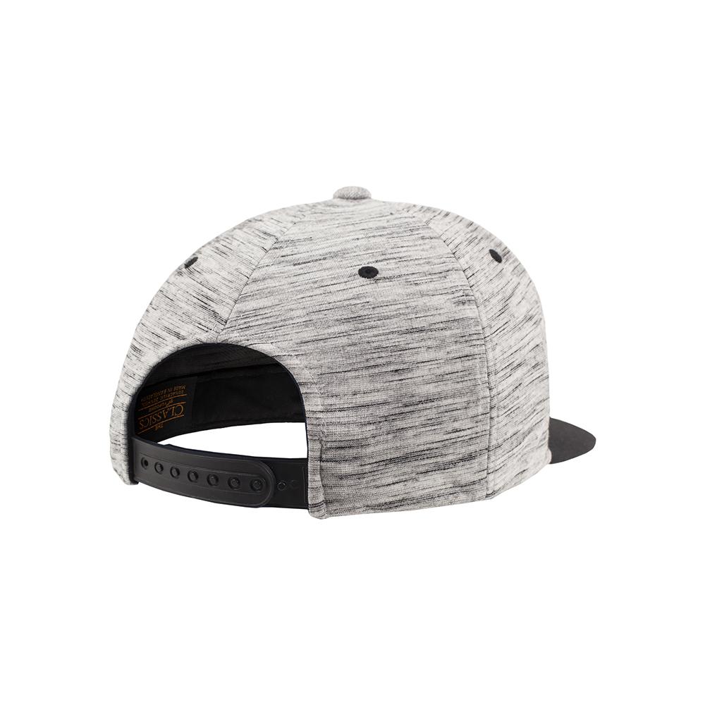 Stripes Melange Crown Snapback Cap - Caps - Accessories - Oddsailor.com e8a16768839bb