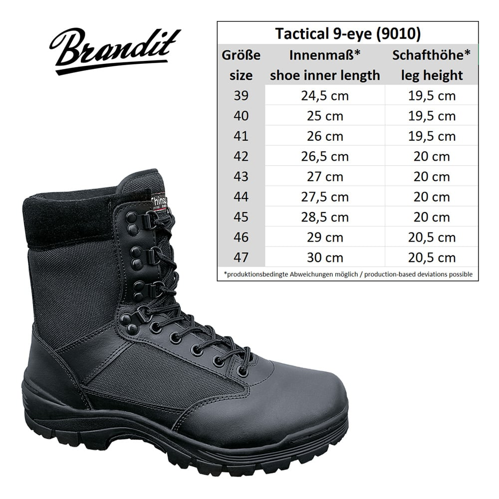 Tactical Boots 9 eyes Shoes Mens