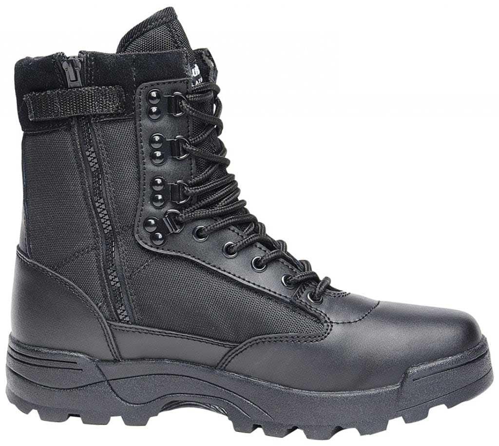 Tactical boots zipper Shoes Mens